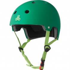 Triple Eight Dual Certified EPS Helmet - Kelly Green
