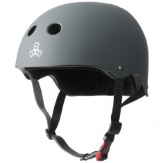 Triple Eight Certified Sweatsaver Helmet - Carbon Rubber