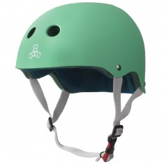 Triple Eight Certified Sweatsaver Helmet - Mint Rubber