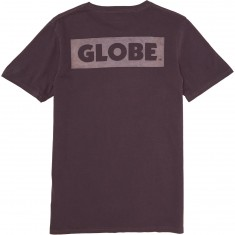 Globe Sticker T-Shirt - Currant