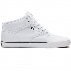 Globe Motley Mid Shoes - White