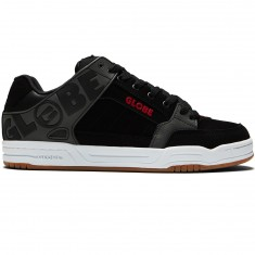 Globe Tilt Shoes - Black/Charcoal/Red