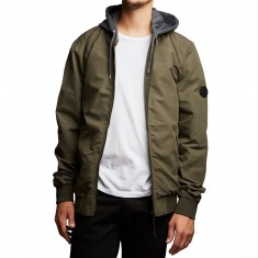 Globe Goodstock Bomber Jacket - Light Olive
