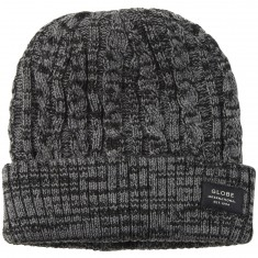 Globe Lanes Beanie - Black/Coal Twist