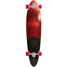 Globe Pinner Classic Longboard Complete - Red Foil