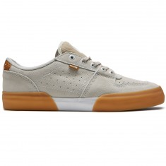Globe Mojo Legacy Shoes - White Suede/Gum