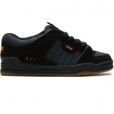 Globe Fusion Shoes - Black/Ebony/Orange