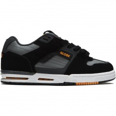 Globe Fury Shoes - Black/Grey/Orange