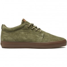 Globe GS Chukka Shoes - Burnt Olive/Gum