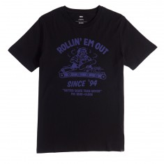 Globe Rollin T-Shirt - Washed Black