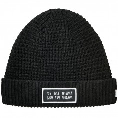 Globe Yes Up and Down Beanie - Black