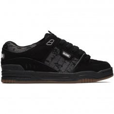 Globe Fusion Shoes - Black/Camo/Jaquard