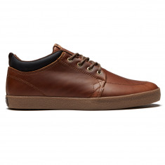 Globe GS Chukka Shoes - Brown Leather/Crepe