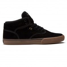 Globe Motley Mid Shoes - Black/Black/Tobacco