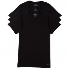 Calvin Klein Crew Neck T-Shirt 3 Pack - Black