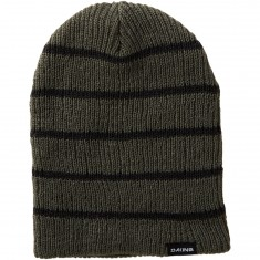 Dakine Tall Boy Stripe Beanie - Charcoal/Black
