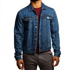 Calvin Klein Trucker Jacket - Medium Wash
