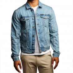 Calvin Klein Trucker Jacket - Light Wash
