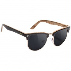 Glassy Dashawn Polarized Sunglasses - Black/Cork