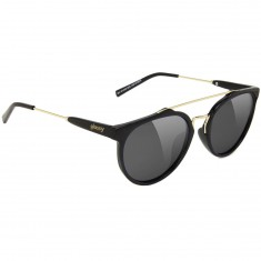 Glassy Chuck Sunglasses - Black/Gold