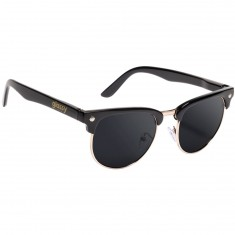 Glassy Morrison Polarized Sunglasses - Black/Gold