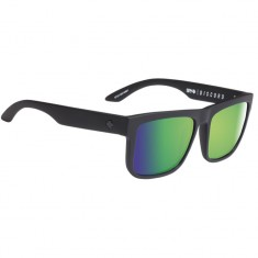 Spy Discord Sunglasses - Matte Black/Happy Bronze Polar Green Spectra