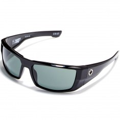 Spy Dirk Sunglasses - Black/Happy Grey Green