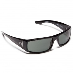 Spy Cooper Sunglasses - Black/Happy Gray Green