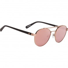 Spy Deco Sunglasses - Matte Rose Gold/Matte Black/Happy Bronze/Rose Quartz Spectra