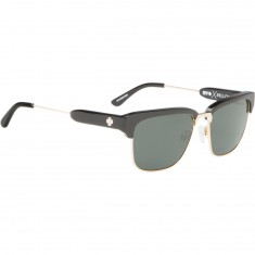 Spy Bellows Sunglasses - Black/Gold/Happy Gray Green