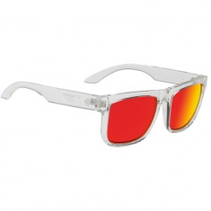 Spy Discord Sunglasses - Clear/Happy Gray Green/Red Spectra