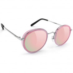 Glassy Lincoln Sunglasses - Pink/Pink Mirror