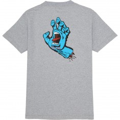 Santa Cruz Screaming Hand T-Shirt - Athletic Heather