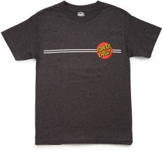 Santa Cruz Classic Dot T-Shirt - Charcoal Heather