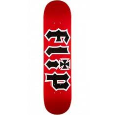 Flip Team HKD Skateboard Deck - Red - 7.5""