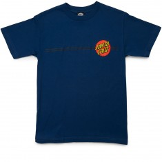 Santa Cruz Classic Dot T-Shirt - Harbor Blue