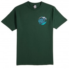 Santa Cruz Wave Dot T-Shirt - Forest Green
