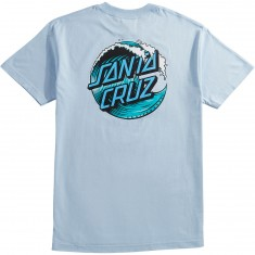Santa Cruz Wave Dot T-Shirt - Powder Blue