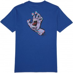 Santa Cruz Screaming Party Hand T-Shirt - Royal