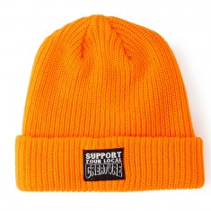 Creature Support Long Shoreman Beanie - Safety Orange