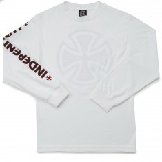 Independent Bar/Cross Long Sleeve T-Shirt - White