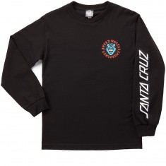 Santa Cruz Screaming Hand Long Sleeve T-Shirt - Black