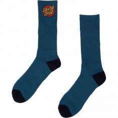 Santa Cruz Cruz 2 Pack Socks - Navy/Red/White/Blue