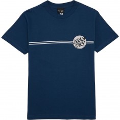 Santa Cruz Other Dot T-Shirt - Harbor Blue/Silver