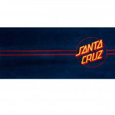 Santa Cruz Classic Dot Towel - Navy