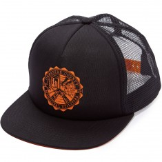 Creature C.C.M.U. Trucker Mesh Hat - Black