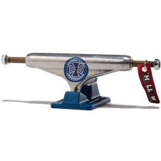 Independent Stage 11 Grant Taylor GC Hollow Skateboard Trucks - Silver/Blue