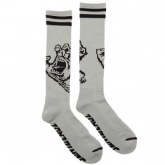 Santa Cruz Hand Tall Socks - Grey