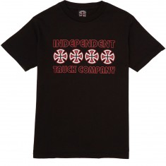 Independent Stacked Color T-Shirt - Black
