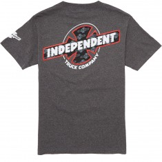 Independent Slant BTG Fill T-Shirt - Charcoal Heather